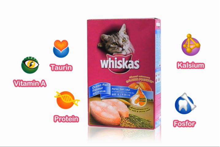 Whiskas: Makanan Bernutrisi Yang Paling disukai Si Meong