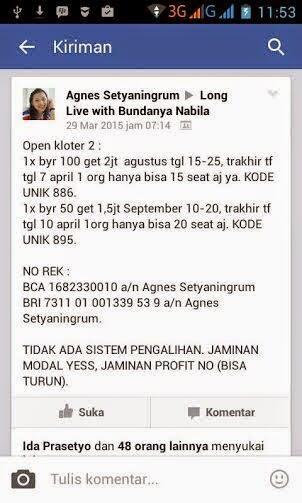 banyaknya trit penipuan membuktikan banyak orang indonesia maruk