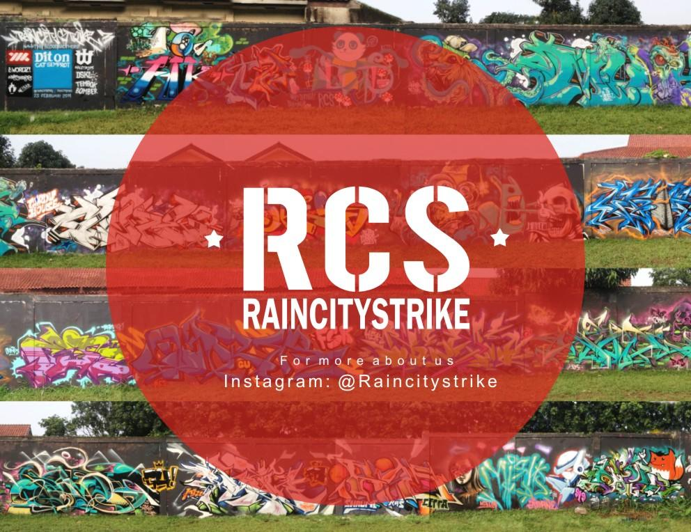 [HOBBY] STREET ART GRAFFITI AND MURAL BOGOR [RAINCITYSTRIKE]