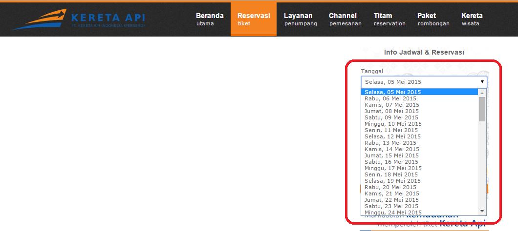 CARA MEMBUAT DROP DOWN TANGGAL DI PHP