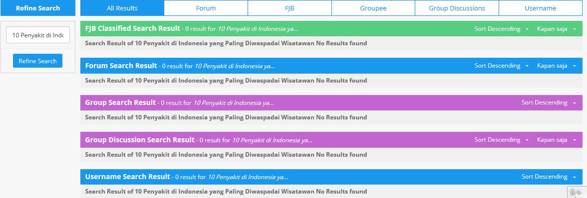 10 Penyakit di Indonesia yang Paling Diwaspadai Wisatawan