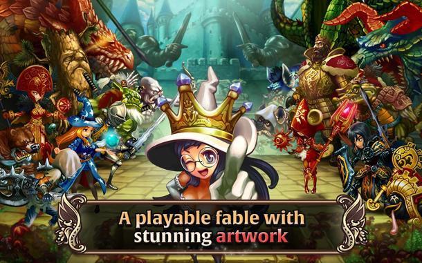 [iOS/Android] ~ Dragon Blaze ~ Vanillaware Game Style
