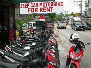 Jalanan Penuh Uang Di Usaha Sewa Motor