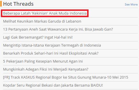 Beberapa Latah 'Kekinian' Anak Muda Indonesia