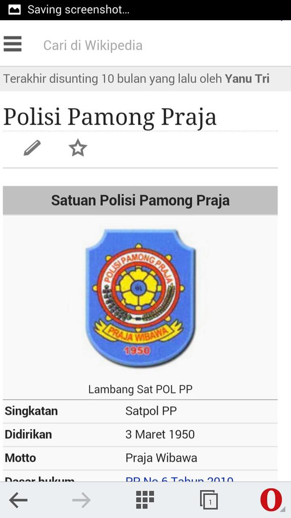 """Satpol pp """" gerombolan pasukan brengsek""""."""
