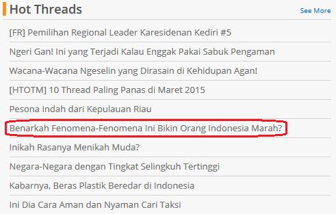4 Fenomena Yang Bisa Bikin Orang Indonesia Marah !!!