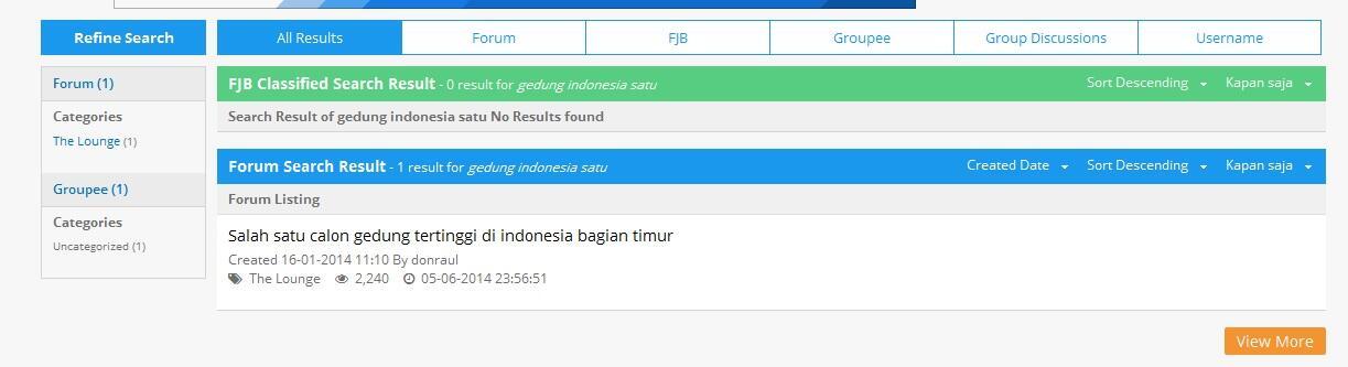 Gedung Indonesia 1, calon gedung tertinggi di Indonesia