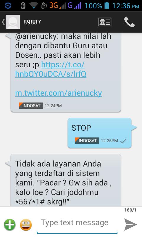 [Hati-hati] Inilah jebakan BetMen ala INDOSAT via App Twitter!!!