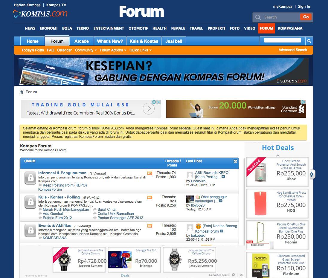 Iklan Online Shop SAMPAH