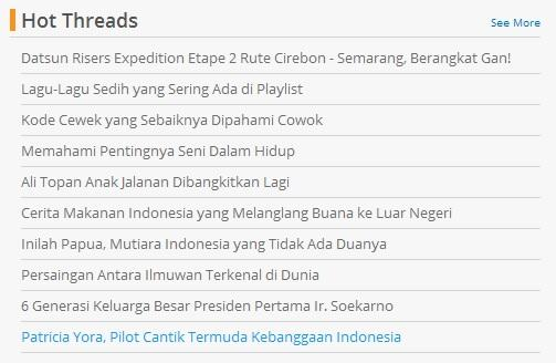 Patricia Yora, Pilot Cantik Termuda Kebanggaan Indonesia