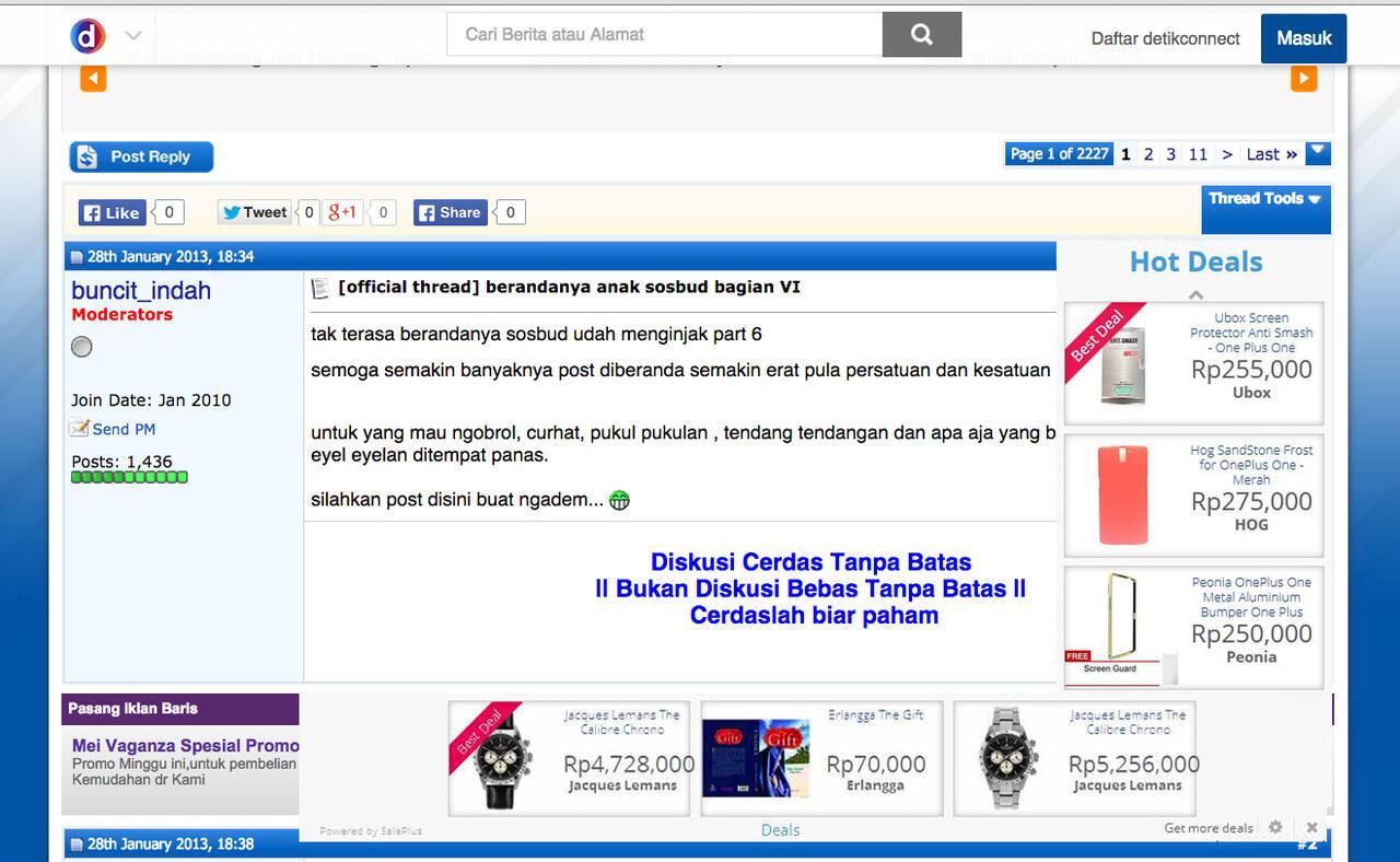 Malware Online Shop LAZADA