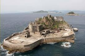 Pulau Buatan Unik di Jepang-Gunkan Jima [BattleShip Island]