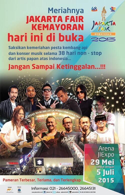 Jakarta Fair Optimis Bantu Pertumbuhan Ekonomi Nasional