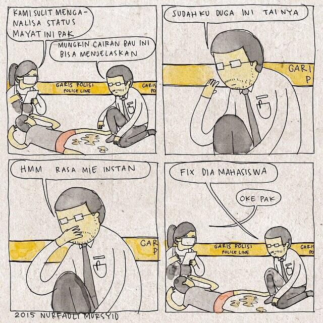 Tahilalats Komik strip lucu aseli Indonesia