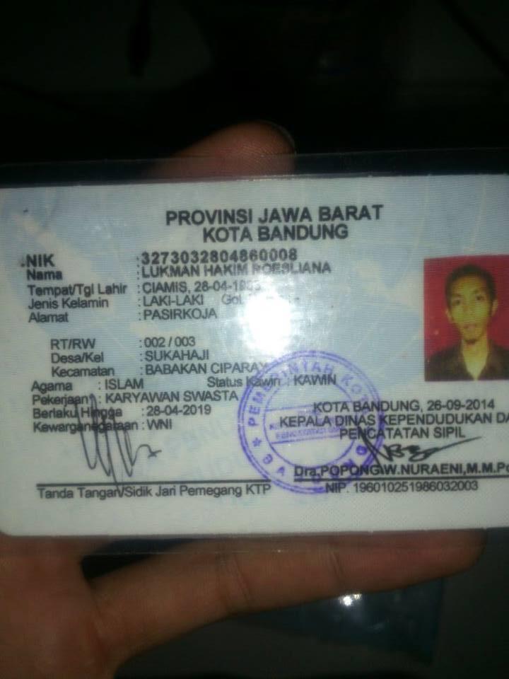WASPADA GAN Penipu LUKMAN HAKIM ROESLIANA dari Bandung