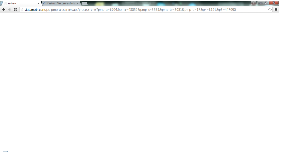 Browser ane redirect mulu nih ke website lazada :'(