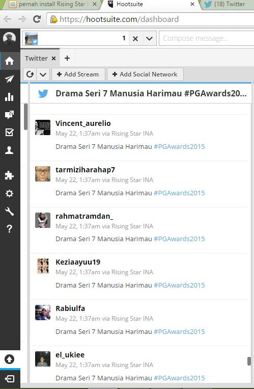 pernah install Rising Star Indonesia? kuat dugaan twittermu sudah disalahgunakan