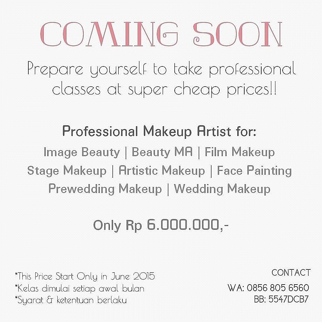 Become to be a professional makeup artist (investasi seumur hidup)