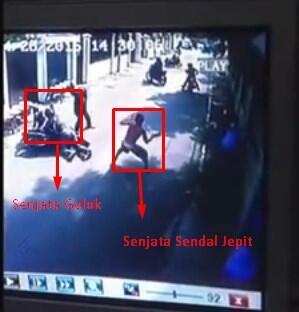 [BEGAL] SANDAL JEPIT vs GOLOK Begal ngacirrrrrr...!!!!!