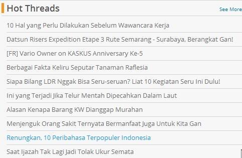 (Sejenak direnungkan) 10 Peribahasa Terpopuler Indonesia