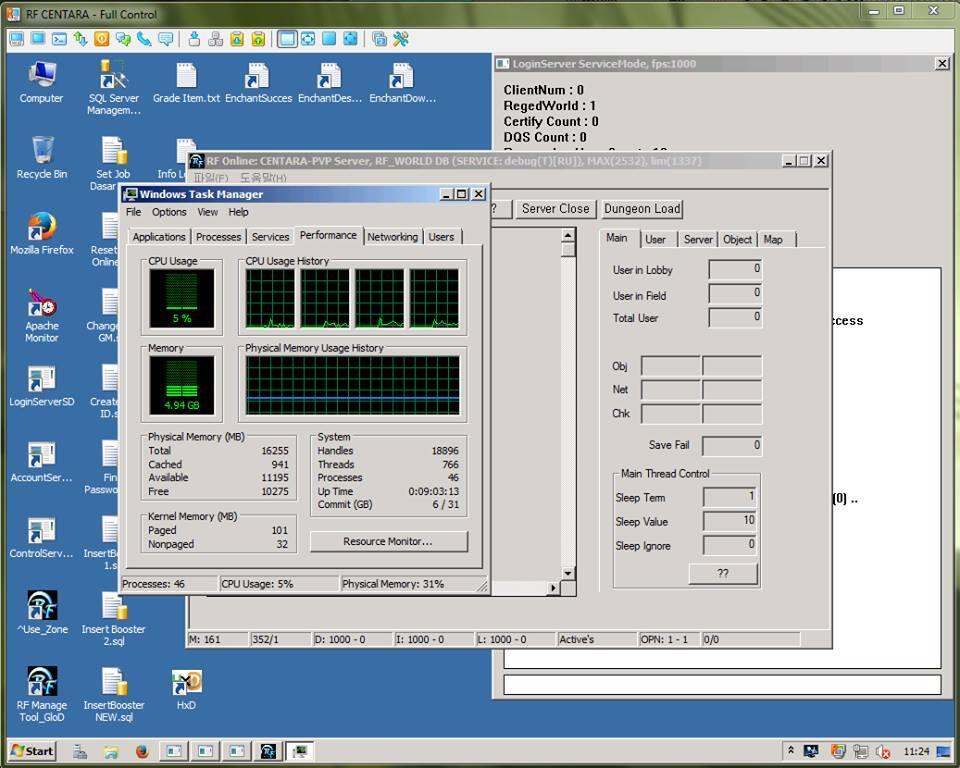 RF CENTARA 2.2.3.2 PVP Server Ready For Up 11-06-2015