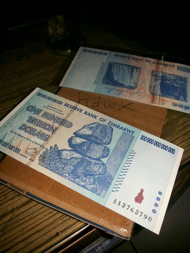 Woow.. Inilah Fakta Unik Uang di Zimbabwe