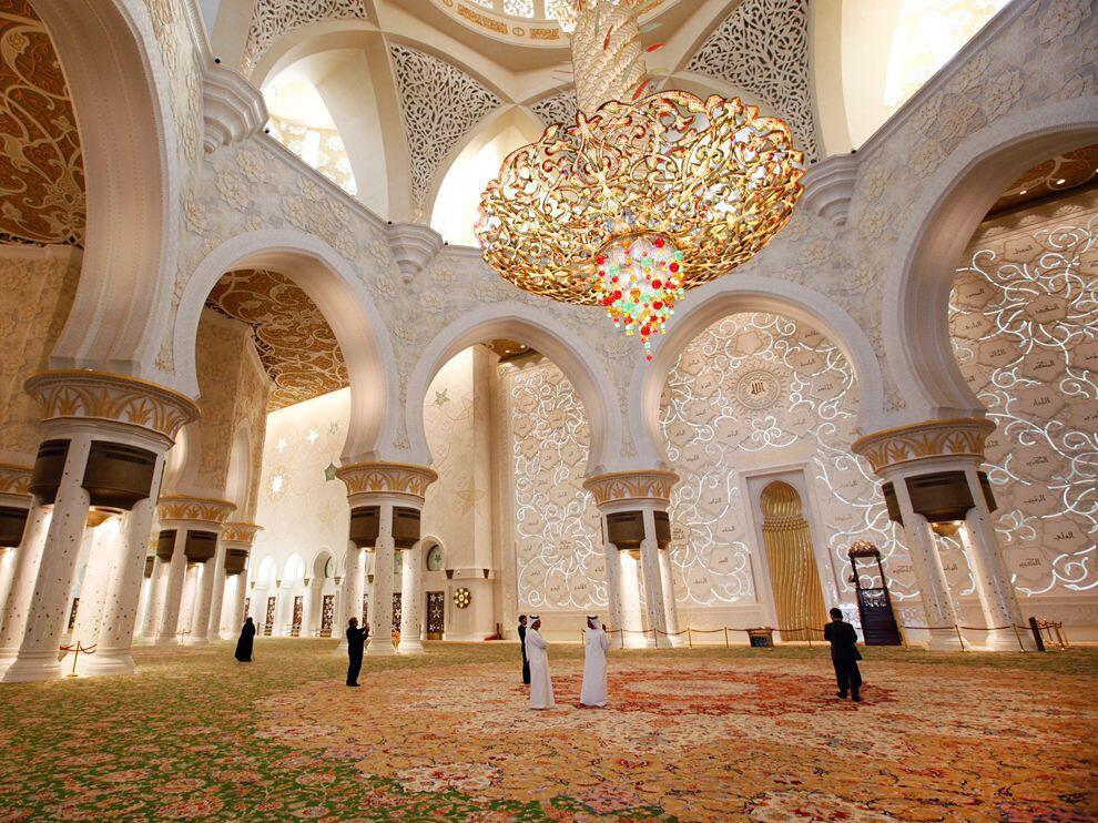 Keindahan Masjid Sheikh Zayed, Masjid terindah di dunia