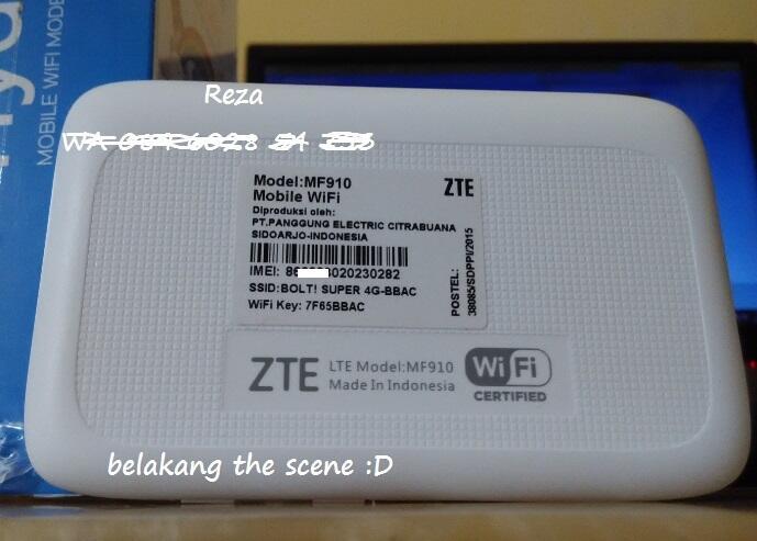 MODEM BOLT 4G HYDRA ZTE MF910 Speed Up To 100Mbps