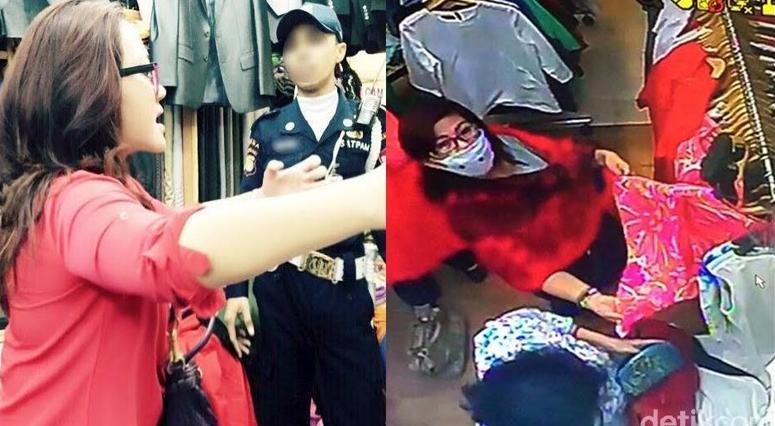 [BUKTI] Ini Penampakan Dian dan Si Pencuri di Mall yang mirip tapi beda