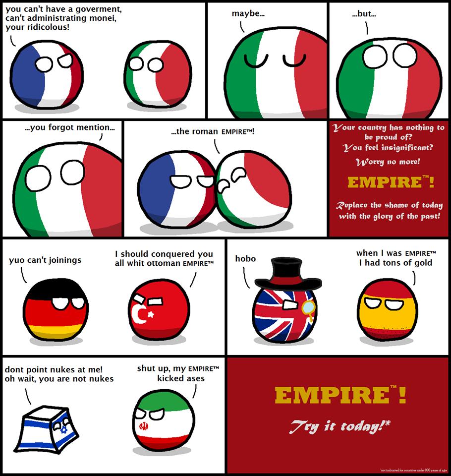 Polandball Komik Lucu Yg Nyindir Negara2 Diseluruh Dunia