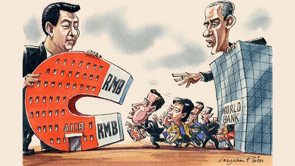 China Pimpin AIIB, 57 Negara Dipastikan Bergabung