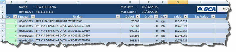 Simplebank Add Ins Ms Excel Utk Mutasi Rekening Bca Mandiri Fresh From The Oven Page 4 Kaskus