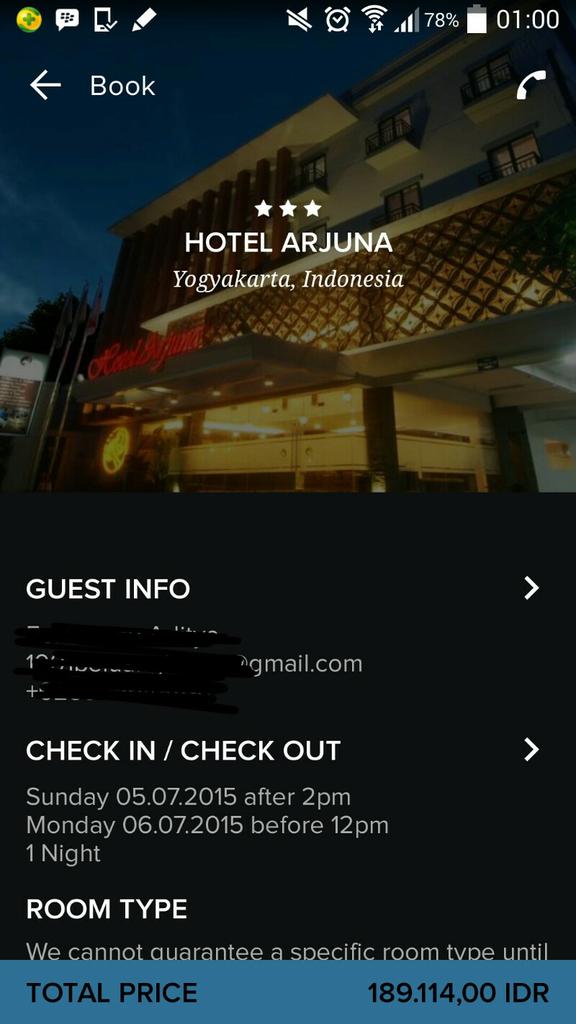 DAFTAR HOTEL MURAH Di MALIOBORO JOGJA Lengkap Dengan Fasilitasnya