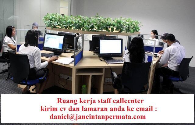 lowongan pekerjaan staff callcenter