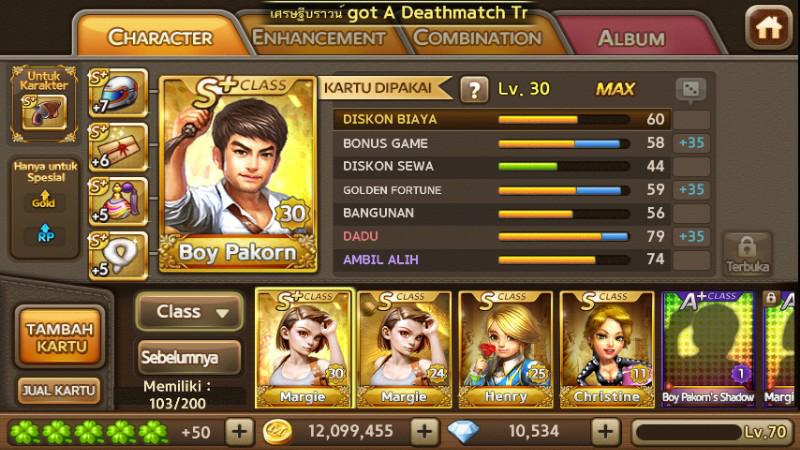 Line Get Rich Kaya Raya