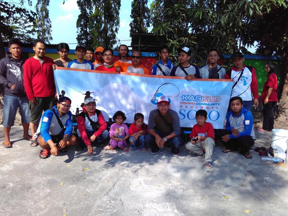 FR Gathering ke 4 KASKUS FISHING COMMUNITY Regional Solo