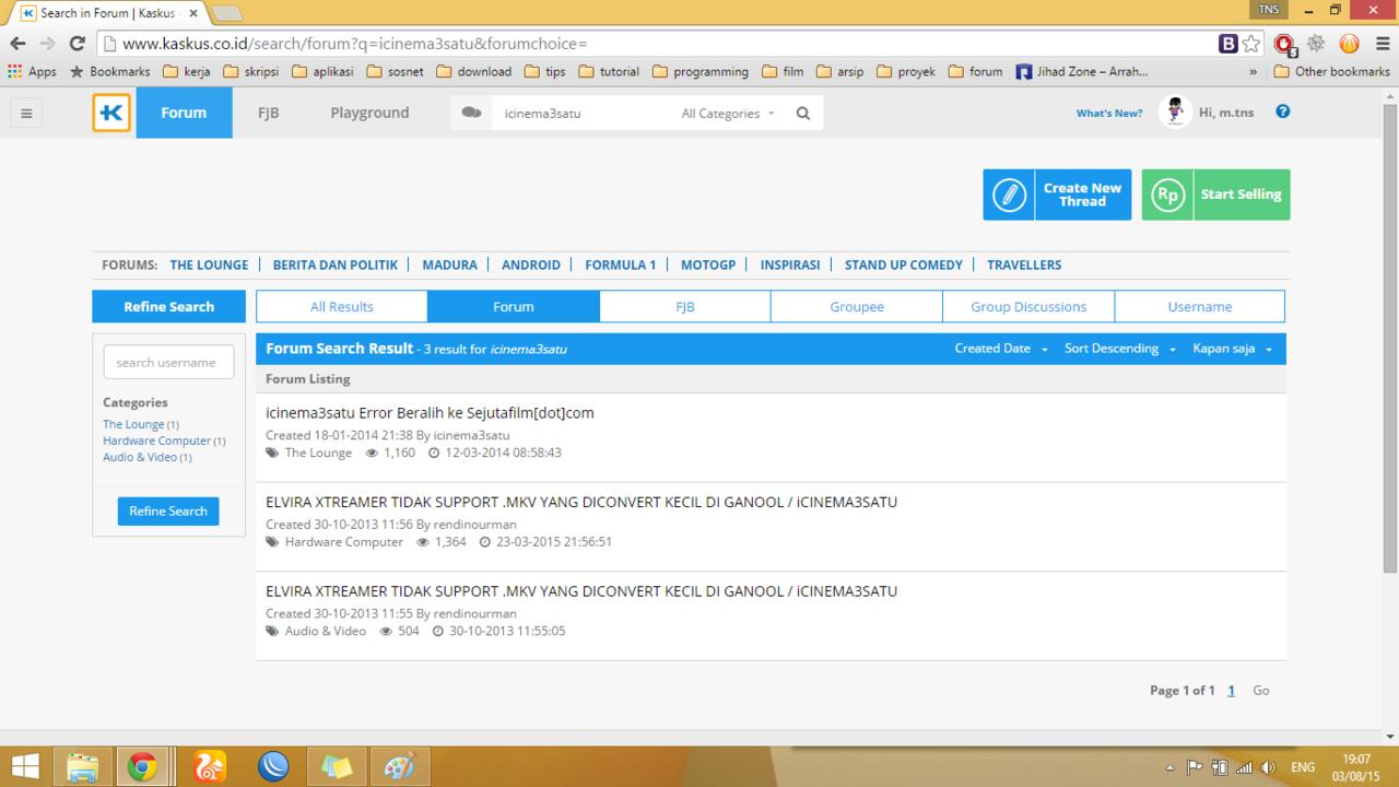 Wow!!! Website Icinema3satu di HACK!!! | KASKUS