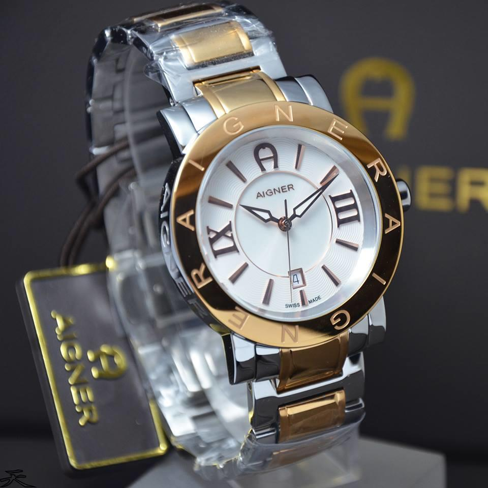 Terjual Watchunitedcom Jam Tangan Aigner Original Barilecce A17113 Belluno Hitam Gold Barilecceverona