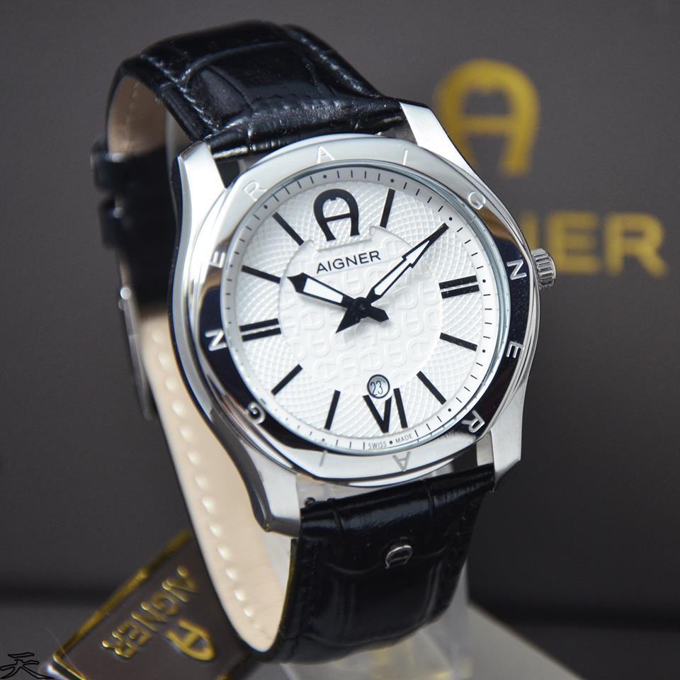 Terjual Watchunitedcom Jam Tangan Aigner Original Barilecce A31626 Genua Due Silver Barilecceverona