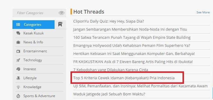 Top 5 Kriteria Cewek Idaman (kebanyakan) Pria Indonesia