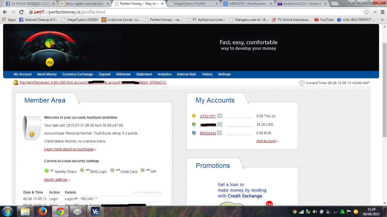 Kerja ngetik captcha online di Megatypers..100%dibayar!!!