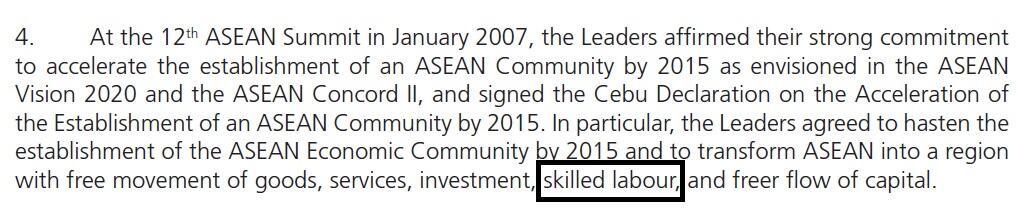 Arus bebas tenaga kerja terampil ASEAN, untung atau buntung...?