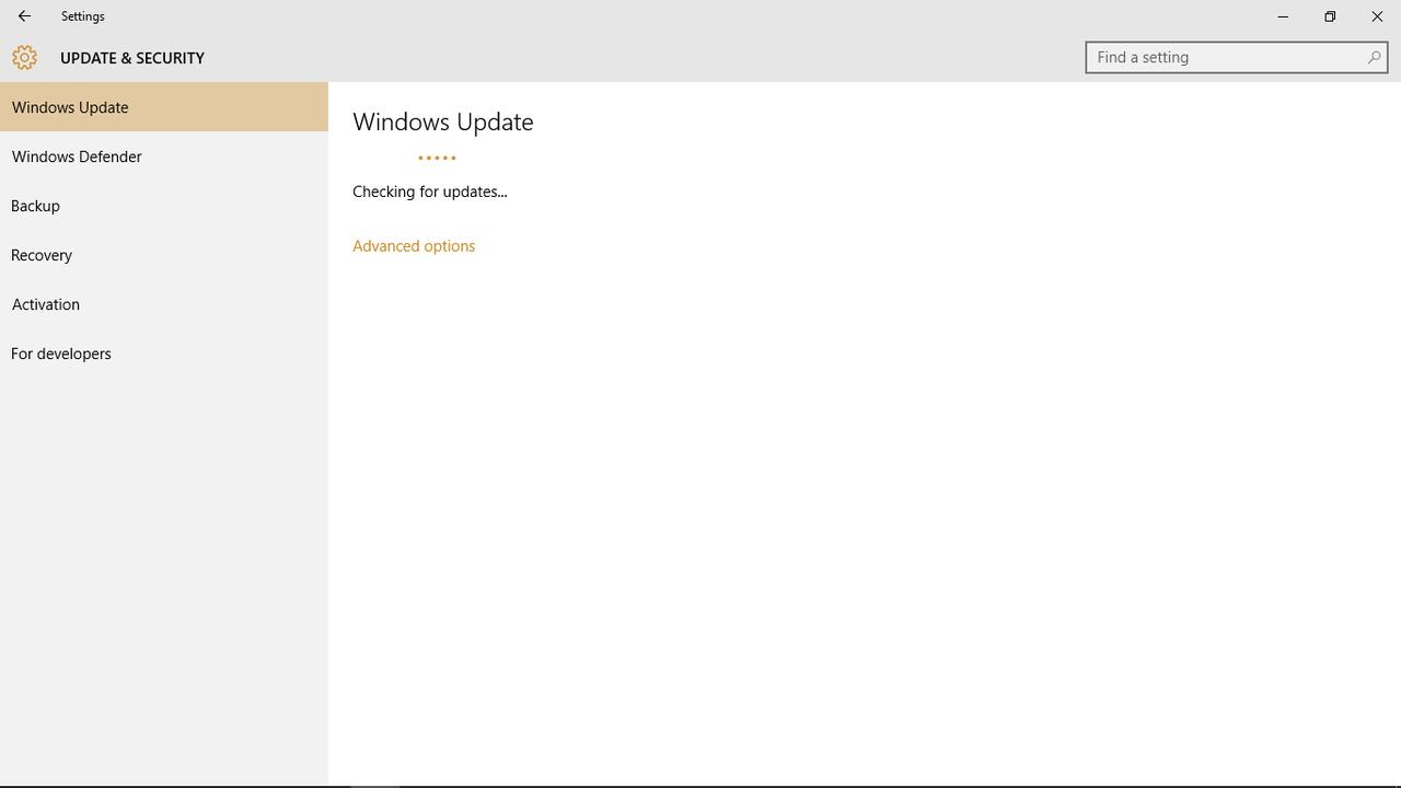 [ Windows 10 ] Help gan Windows Update Stuck Searching for update :(