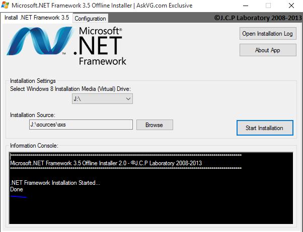 Tutorial Install .NET Framework 3.5 Offline di Windows 10