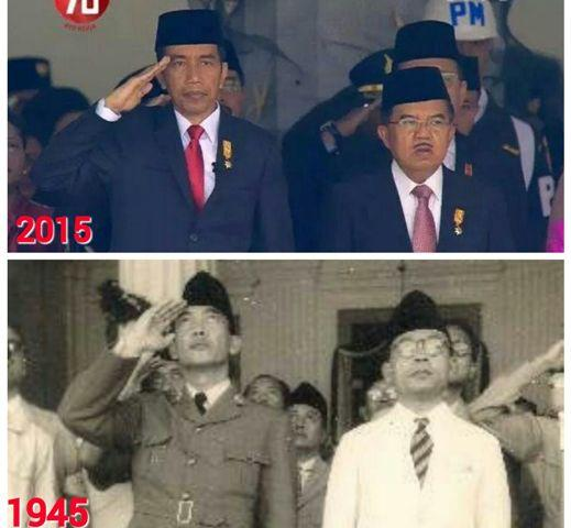 CARA JK HORMAT BENDERA Sudah Sesuai Dengan PP No.40 Ttg Bendera Kebangsaan RI