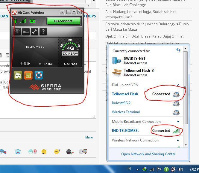 REVIEW DAN DISKUSI MODEM SIERRA 320U LTE FDD 100 MBPS - Page 25 | KASKUS