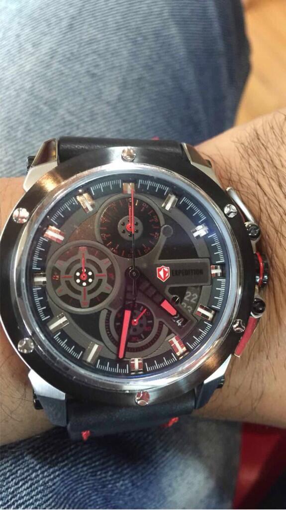 Help ane bingung soal jam tangan expedition E6603M