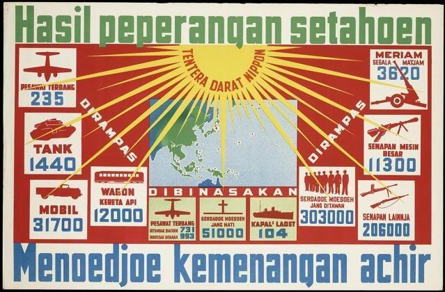 Ini Dia Poster Propaganda Jepang Pada Masa Penjajahan
