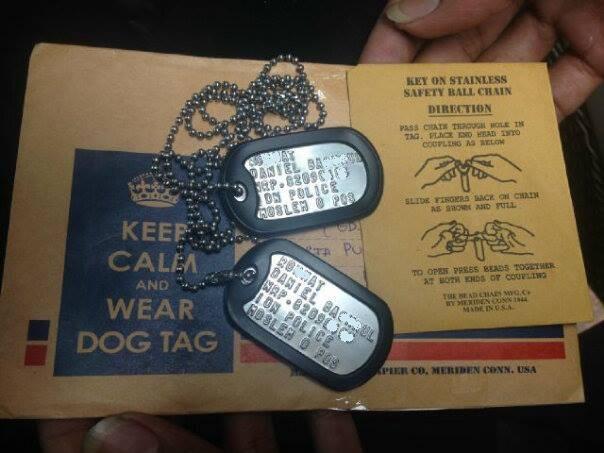 MENGENAL ASAL USUL KALUNG DOG TAG (MILLITARY TAG)