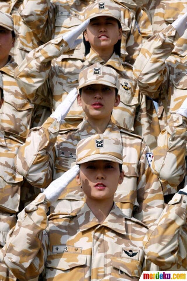ini tentara wanita korsel cantik tapi mematikan kaskus